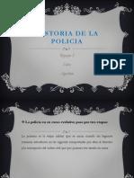 Historia de La Policia