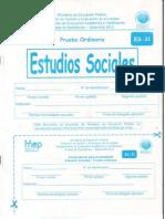 Bachillerato Estudios Sociales Setiembrel 2013