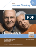 SARCOA Senior Resource Directory 2009