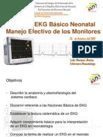 Lectura  EKG en neonatologia REDVENEO