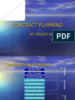 Contract Planning