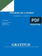 Informe de Labores Fepol