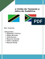 Tanzania y Sudáfrica