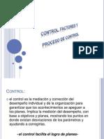 Control, Factores y Proceso de Control