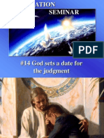 14--God Sets a Date for the Judgment