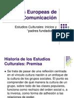 Estudios culturales, inicios y padres fundadores. Primera parte.ppt