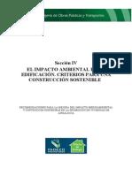 Impacto Amb. en Una Edificacion Seccion IV