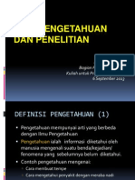 Metlit-04 Ilmu & Penelitian - Prof. Dr. Rianto Setiabudi, SpFK.ppt