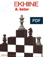57- Kotov - Alekhine. (Mr,1973)