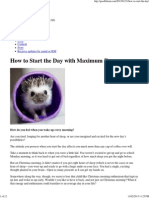 How to Start the Day with Maximum Focus.pdf