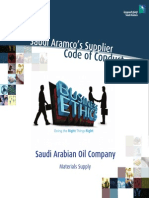 Saudi Aramco Code Of Conduct