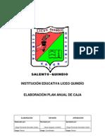 Elaboración Plan Anual de Caja