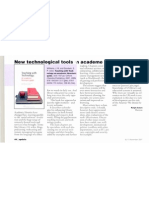 New technological tools in academe