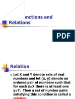 10.1 Function and RElations