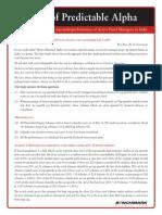 Portfolio Theory - (2010) Myth of Predictable Alpha.pdf