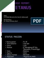 Laporan Kasus Tetanus ppt