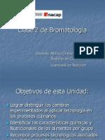 Clase 2 de Bromatología U I
