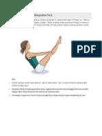 5 Gerakan Yoga Untuk Mengecilkan Perut