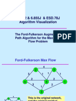 Ford Fulkerson algorithm