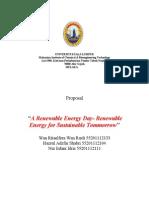 Renewable Energy, the proposal.doc