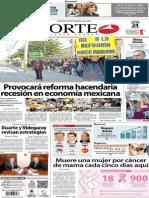 Periódico Norte de Ciudad Juárez 24 de Octubre de 2013