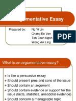 Argumentative essays.ppt