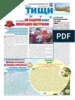 """Газета """"Наши Мытищи"""" №25 (25) от 25.12.2010"""