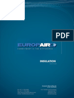 Acoustic - Insulation Technical - Europair