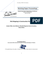 Risk mapping in construction works