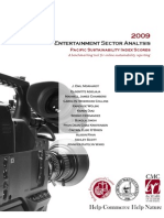 2009 Entertainment Sector Analysis
