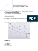 Cupla como función del Reóstato en el Rotor