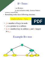 B+ Trees