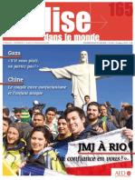 L\'Eglise dans le Monde n°165