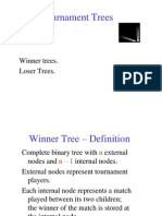 Tournament Trees