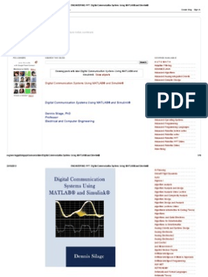 ENGINEERING PPT_ Digital Communication Systems Using MATLAB