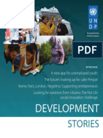 Development Stories, UNDP Skopje, Issue 5, autumn 2013