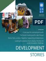 Development Stories, UNDP Skopje, Issue 5, autumn 2013