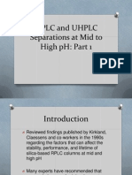 HPLC and UHPLC Part 1