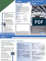 EPOCH 25-Catalogo Espec Tecnicas