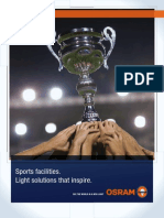 Sports Facilities Application Brochure