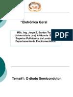 Tema#1 El Diodo Semiconductor. Conf1