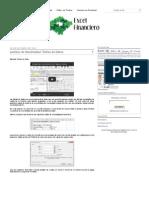 Análisis de Sensibilidad_ Tablas de Datos _ Excel Financiero