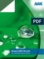 AAK 2012-2013 Sustainability Report
