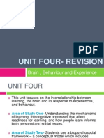 unit four- revision