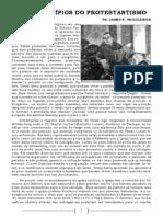 TRÊS PRINCÍPIOS DO PROTESTANTISMO - SOLA SCRIPTURA, SOLA GRATIA, SOLA FIDE