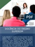 Pós-graduação em Docência do Ensino Superior - Grupo Educa+ EAD