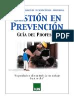 Prevencion de Riesgos en La Educacion Tecnico Profesional Profesor
