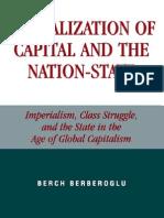 Globalization of Capital the Nation-State by Berch Berberoglu