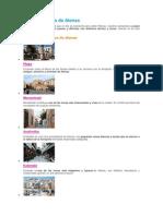 Barrios y Zonas de Atenas