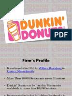 Dunkin Donuts .pptx